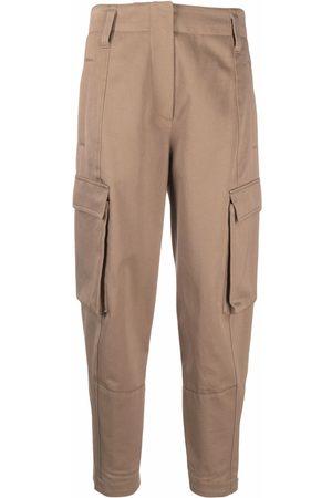 Brunello Cucinelli Cropped cargo trousers