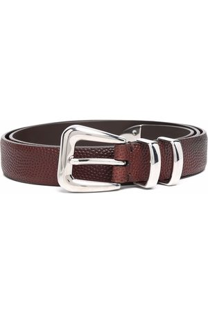 Brunello Cucinelli Men Belts - Buckle-fastening leather belt