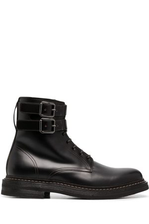 Brunello Cucinelli Buckle-fastened ankle boots