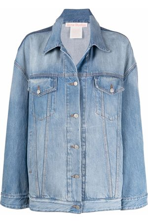 Acne Studios Women Denim Jackets - Oversized denim jacket