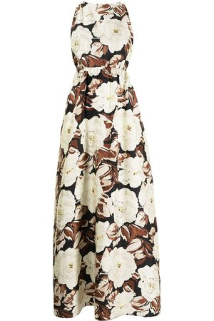 SIR Vivienne floral-print dress - Neutrals