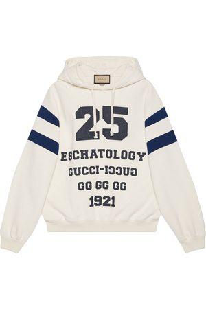 Gucci Men Hoodies - Logo-print hoodie