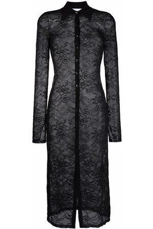 Patrizia Pepe Lace-layered dress