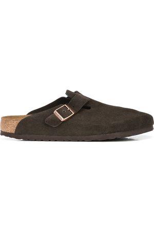 Birkenstock Boston soft suede sandals