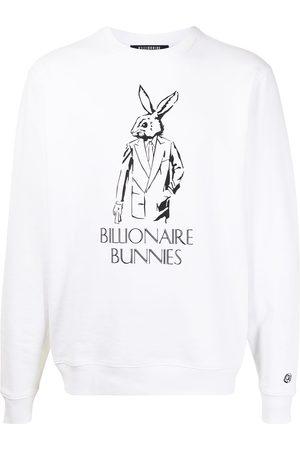 Billionaire Boys Club Men Sweatshirts - Logo-print crew neck sweatshirt