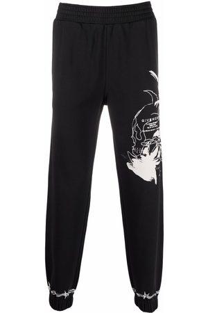 Givenchy Men Sweatpants - Logo-print leg track pants