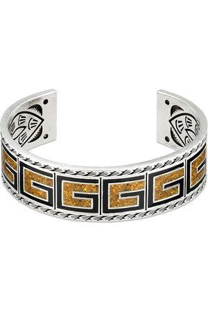 Gucci G monogram cuff bracelet