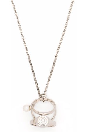 MM6 MAISON MARGIELA Number rings necklace