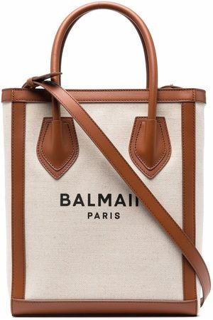 Balmain B-Army 26 shopper bag - Neutrals