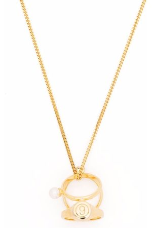 MM6 MAISON MARGIELA Women Necklaces - Numbers rings necklace