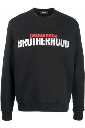 Dsquared2 Brotherhood logo-print sweatshirt