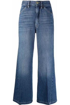 Frame Le Baggy mid-rise wide-leg jeans