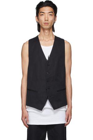 ANN DEMEULEMEESTER Cotton & Linen Vest