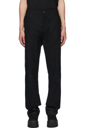 ANN DEMEULEMEESTER Men Pants - Cotton Double Hem Trousers