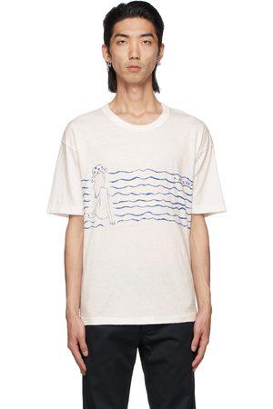 VISVIM Men T-shirts - White & Jumbo T-Shirt