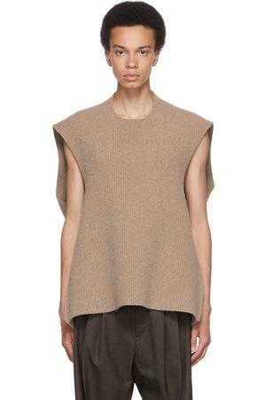 Hed Mayner Wool Sleeveless Vest