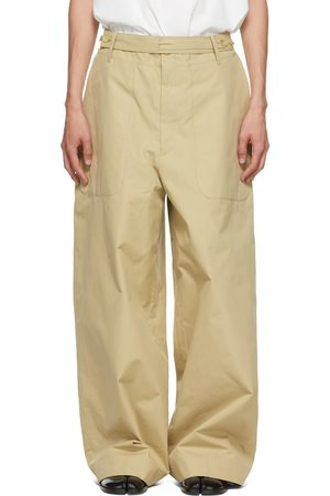 Hed Mayner Cotton Belted Trousers