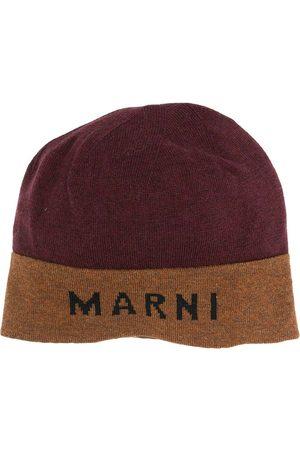 Marni Two-tone logo beanie