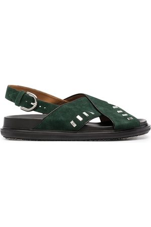 Marni Fussbett studded sandals