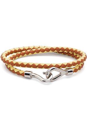 Marni Men Bracelets - Braided wraparound bracelet