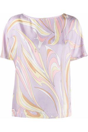 Emilio Pucci Graphic-print short-sleeve top