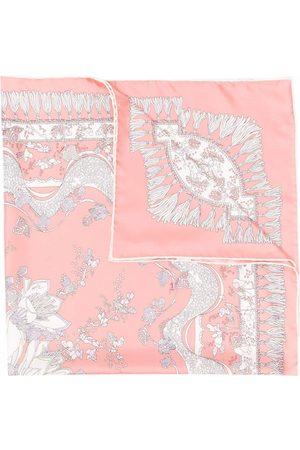 Emilio Pucci Rugiada-print silk scarf