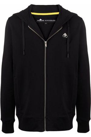 Moose Knuckles Men Hoodies - Magnapop zip-up cotton hoodie