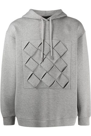 Opening Ceremony Weave box hoodie - Grey