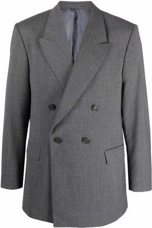 HAN Kjøbenhavn Double-breasted tailored blazer - Grey