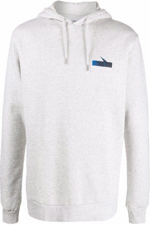 Han Kjøbenhavn Logo organic cotton hoodie - Grey