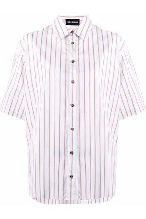 HAN Kjøbenhavn Striped short-sleeve shirt