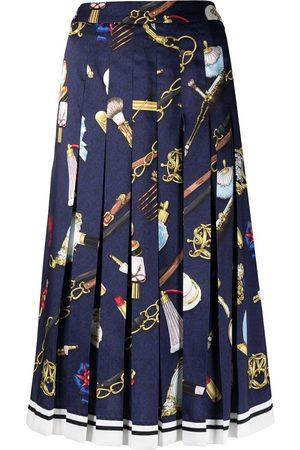 Moschino Women Printed Skirts - Fantasy print midi skirt