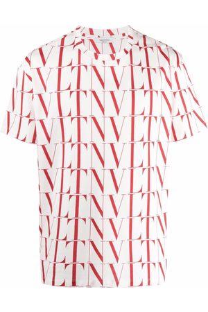VALENTINO Men T-shirts - VLTN TIMES print T-shirt