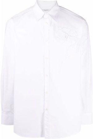 VALENTINO Men Shirts - Garden cotton shirt