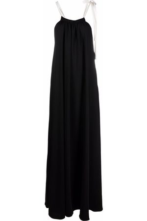 12 STOREEZ Women Maxi Dresses - Drawstring-neck maxi dress