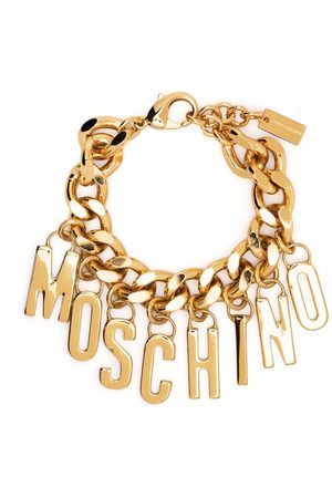 Moschino Women Bracelets - Logo-lettering chain bracelet