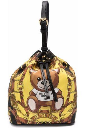 Moschino Women Clutches - Teddy Bear bucket bag
