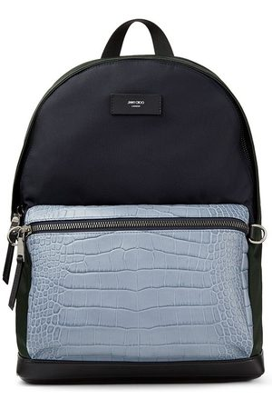 Jimmy Choo Men Rucksacks - Wilmer colour-block backpack