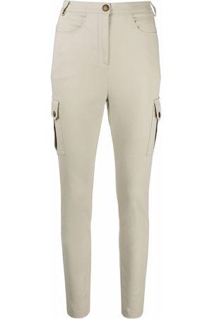 Patrizia Pepe Women Cargo Pants - Cargo-pocket slim-fit trousers - Neutrals