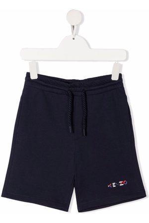 Kenzo Logo-print cotton shorts