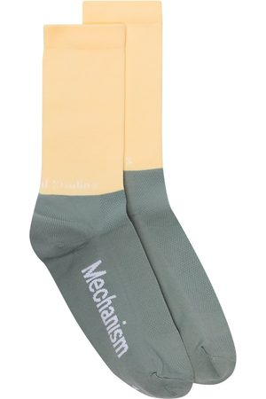Pas Normal Studios Two-tone knitted socks