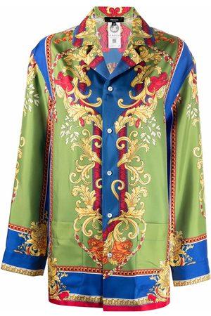 VERSACE Medusa Renaissance-print pajama top