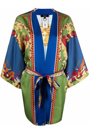 VERSACE Medusa Renaissance-print robe