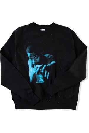 Kid Cudi X Champion Blue Photo sweatshirt
