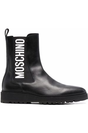 Moschino Logo-print Chelsea boots