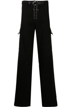 Ludovic De Saint Sernin Lace-up cargo trousers