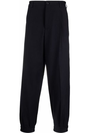 Armani Pleated tapered trousers