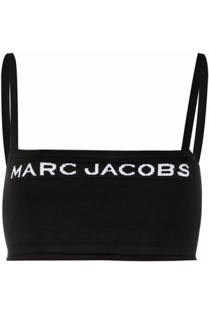 Marc Jacobs The Bandeau intarsia-knit top
