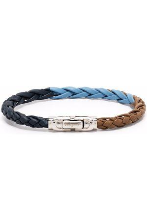 Salvatore Ferragamo Gancini lock woven bracelet