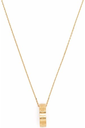 Maison Margiela Numbers ring necklace